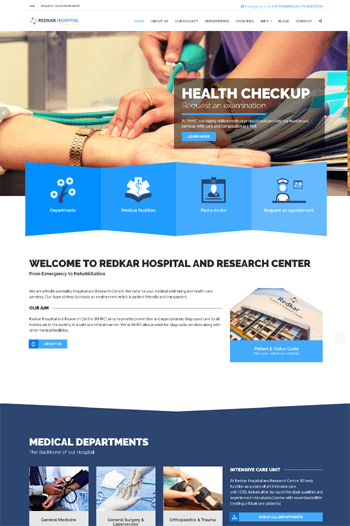 Best website Design for hospital